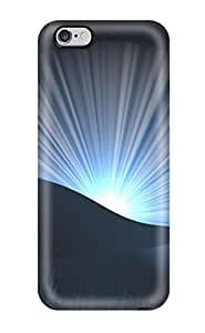 Cute Tpu Matt C Brown Landscape Case Cover For Iphone 6 Plus