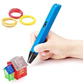 Soyan Professional 3D Printing Pen with Temperature & Speed Control, Large OLED Screen, Work with PLA and ABS