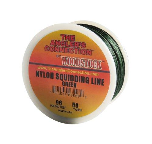 Woodstock Nylon Squidding Line, 150 Yards/96# Test, Green