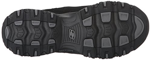 Skechers 11422 BKW DLites Extreme, Damen Sneaker Black/Black