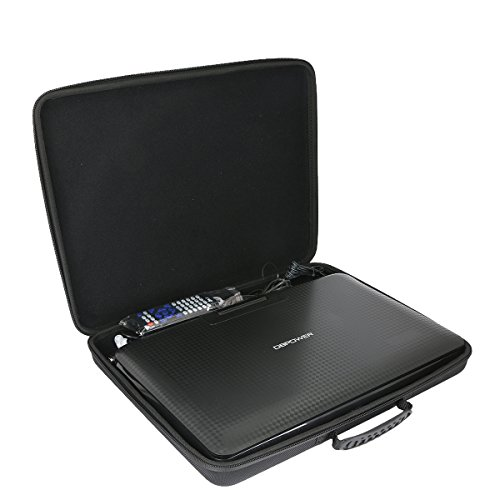 Hard Case for DBPOWER 14'' Portable DVD Player with Rechargeable Battery by Khanka by Khanka