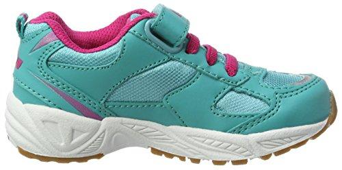 Lico Bob Vs, Scarpe Sportive Indoor Bambina, Blau (Tuerkis/Pink), 25 EU
