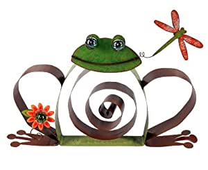 Sunset Vista Designs Enchanted Garden Collection Froggy Sculpture