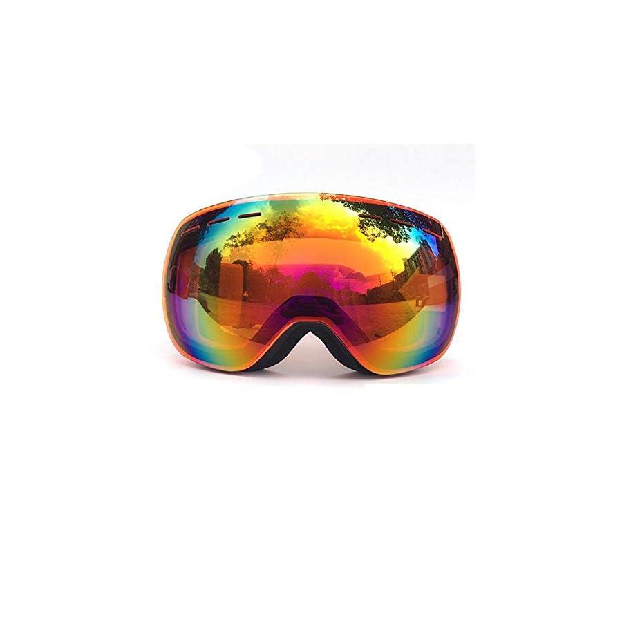 He yanjing Ski Goggles ,Double Anti Fog Snowboard Goggles ,Ski Goggles for Men and Women ,Goggles