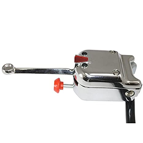 UTV Heavy Duty Lever Switch Turn Signal Kit with Horn and Hardware Without License Plate LED, Oval LED Lights
