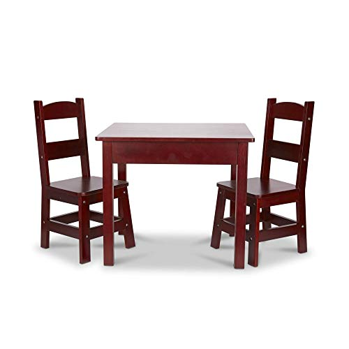 Melissa & Doug Wooden Table and Chairs Set  - ()