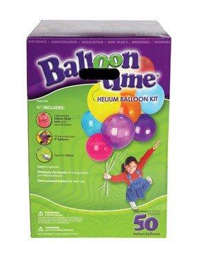 Balloon Time Helium Balloon Kit Boxed ()