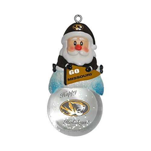 NCAA Missouri Tigers Snow Globe Ornament