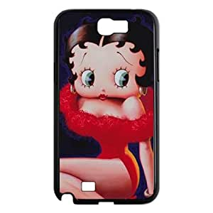 Betty Boop Red Dress Samsung Galaxy N2 7100 Cell Phone Case Black Protect your phone BVS_603229