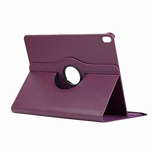 2018 iPad Pro 11 Case, taStone 360 Degree Rotating Case with Multi-angle viewing Rugged Lightweight Screen Protective Cover with Auto Wake/Sleep for 2018 Release 11 inch Tablet iPad Pro 11,Purple (Yy Pro)