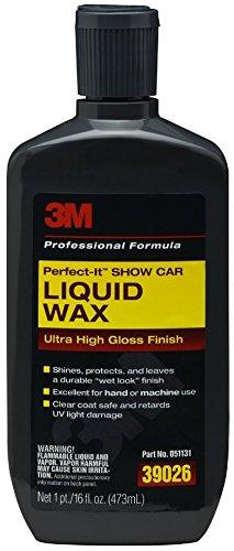 3M 39026 Perfect-It Show Car Liquid Wax - 16 fl. oz. (Wax Car Liquid compare prices)
