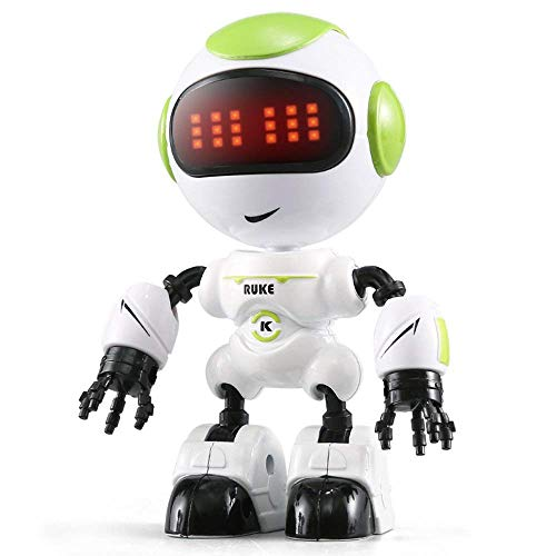 Aeeque ラジコンロボット 人型ロボットミニ RCロボット タッチ制御操作 インテリジェント 子供 おもちゃ 多機能 DIY 可愛い 誕生日プレゼント