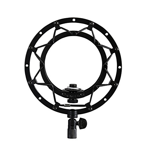Blue Ringer Universal Shockmount for Ball Microphones (Blackout) (International Ringer)