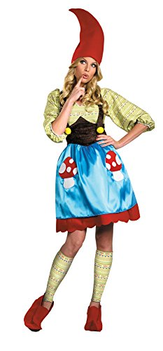 [Adult-Costume Ms. Gnome Adult Costume 10-12 Halloween Costume] (Adult Ms Gnome Costumes)