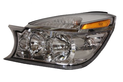 - Buick Rendezvous Replacement Headlight Assembly - Driver Side