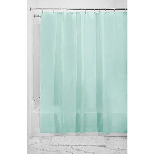 InterDesign Mildew Free 5 5 Gauge Shower 72 Inch