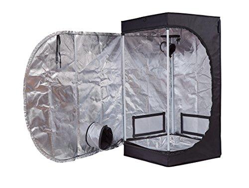 Hongruilite 24''x24''x48'' 36''x20''x63'' 32''x32''x63'' 48''x24''x60'' 48''x24''x72'' 48''x48''x78'' 96''x48''x78'' Hydroponic Indoor Grow Tent Room w/Plastic Corner (24''x24''x48'') by Hongruilite