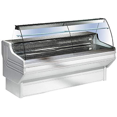 Vitrina refrigerada horizontal - Cristal curvado - Virtus 2500 mm ...