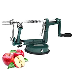 Gwogo® Apple Peeler Stainless Steel with Suction Base Green