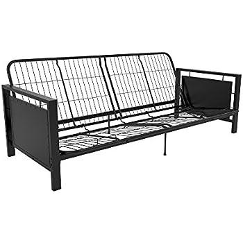Amazon.com: Coaster Casual Black Futon Frame: Kitchen & Dining