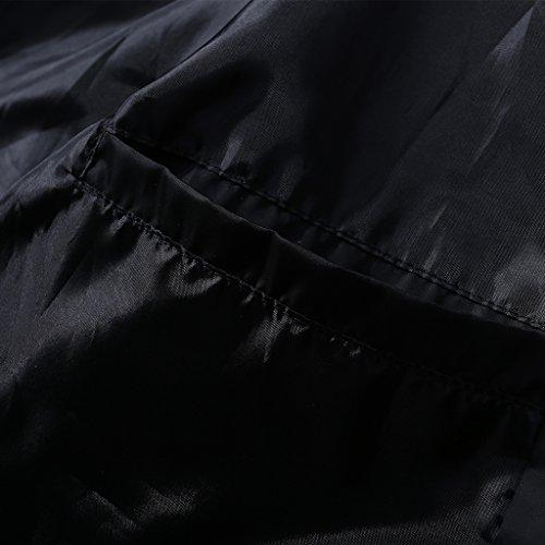 Sportivi Casuale Outdoor Magideal Top Uomo Giacca Cappotti Nero Giacche Per CgT5x