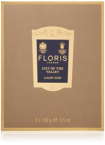 Floris London Lily of the Valley Luxury Soap, 3.4 oz