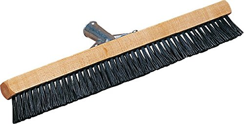 Carlisle 3629703 Pile Brush, Wood Block, 1-3/4'' Black Nylon Bristles, 18'' Overall Length (Case of 12) by Carlisle