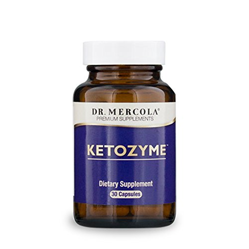 Dr. Mercola Ketozyme Digestive Enzymes - 30 Capsules - Best Digestive Enzyme Supplements for Fat Digestion - Support Your Keto Diet with Betaine HCl and Other Vital Enzymes for Digestion of Fat!* by Dr. Mercola