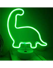 Neon Sign Night Light Lamp with Holder Base Decorative Marquee Signs Light Battery Operated Wall Decoration for Living Room Bedroom Christmas Party Supplies Kids Toys Birthday Gifts