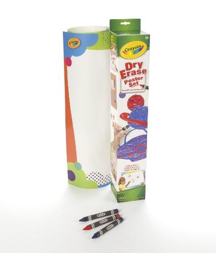 Crayola Dry Erase Plain Poster Reusable and -