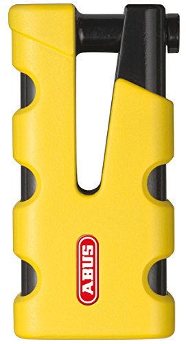 10. Abus: 77 Sledge Brake Disc Lock - Grip Yellow 4003318-50966-7