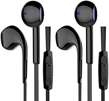 2-Pack Mxstudio Earphones Wired Headphones