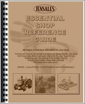 Shop Guides (New The Essential Shop Reference Guide)