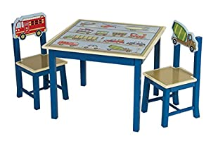 Moving All Around Table & Chairs - 3 Piece by Guidecraft G86502