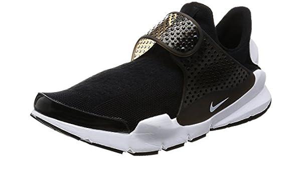 8 D(M) US, BlackWhite) Nike Men's Sock Dart KJCRD Running