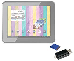 DURAGADGET Estupendo Pendrive ¡2 En 1! Para NetTab Quad MX - Lector De Tarjetas De Memoria SD/MicroSD + USB 2.0 + MicroUSB