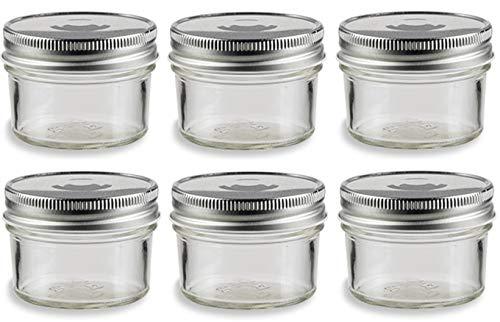 4 ounce kerr jars - 4