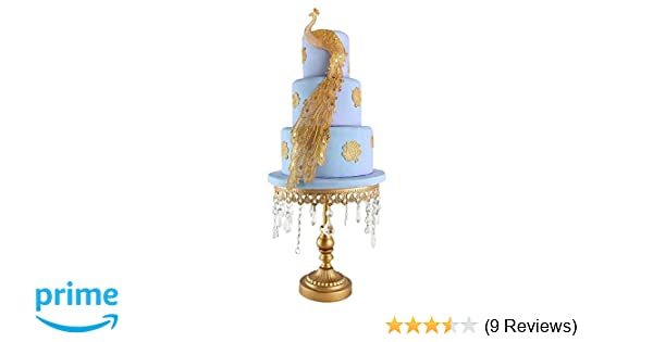 Amazon Com Joinor Peacock Silicone Lace Fondant Mat Mould Cake