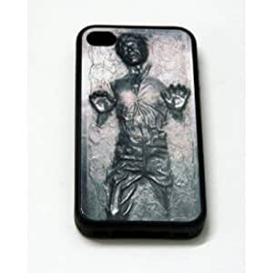 Han Solo Carbonite iPhone 4 Case - Fits iPhone 4 and iPhone 4S by mcsharks