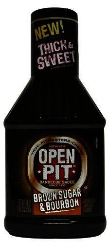Open Pit Thick and Sweet Brown Sugar and Bourbon BBQ Sauce