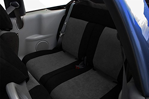 Caltrend Rear 60/40 Split Back Custom Fit Seat Cover for ...