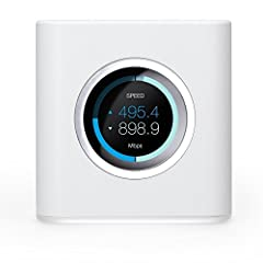 The AmpliFi HD (High-Density) Home Wi-Fi System includes a Mesh Router and 2 MeshPoints for Wi‑Fi coverage throughout your home. The AmpliFi HD system delivers maximum throughput to meet your streaming and gaming demands with lag-free perform...