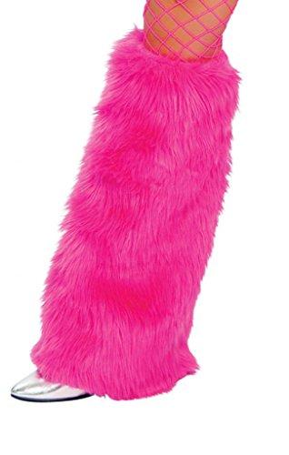 Sexy Furry GoGo Legwarmers Halloween Accessory Hot Pink
