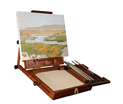 Sienna Plein Air Artist Pochade Box Easel Medium