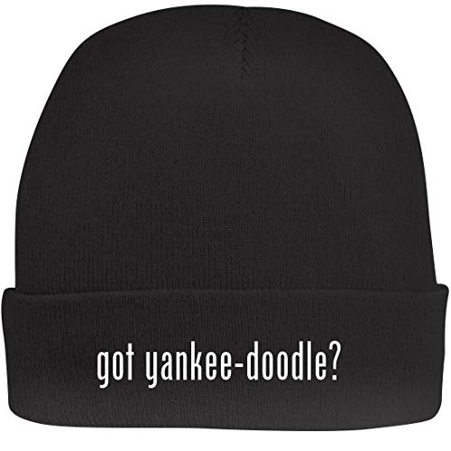 Shirt Me Up got Yankee-Doodle? - A Nice Beanie Cap, Black, OSFA