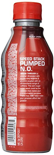 Speed Stack Pumped N.O Nutrition Beverages, 12 Count