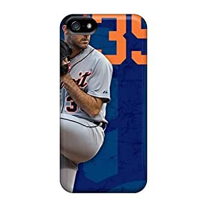 Detroit Tigers Fashion Comstom Plastic For Iphone 6 4.7 Inch Case Cover