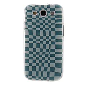 LCJ Psychedelic Grids Pattern Plastic Protective Hard Back Case Cover for Samsung Galaxy S3 I9300