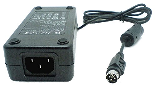 Genuine HIGH POWER Model: HPA-601250U3 A5 Energy-Efficient UL/TUV/FCC/RoHS Compliant Safe 60W AC Power Adapter for Computer LCD Monitor that requires a 4-pin 12-Volt plug (Lcd Hpa)