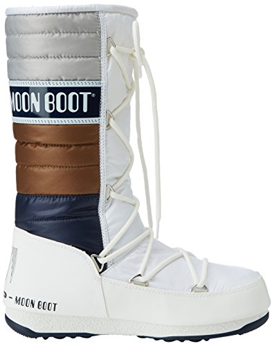 e Bianco bronzo Unisex Stivali Boot Moon Quilted b navy W Adulto qwE7WgA